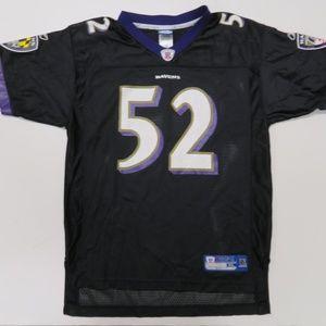 8ff44b660 Reebok Shirts   Tops - Reebok Ray Lewis  52 Baltimore Ravens Black Jersey